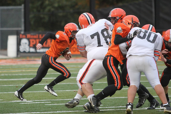 Freshmen:  Ironton at Wheelersburg 2013