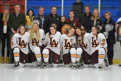 Girls' Hockey Senior Night