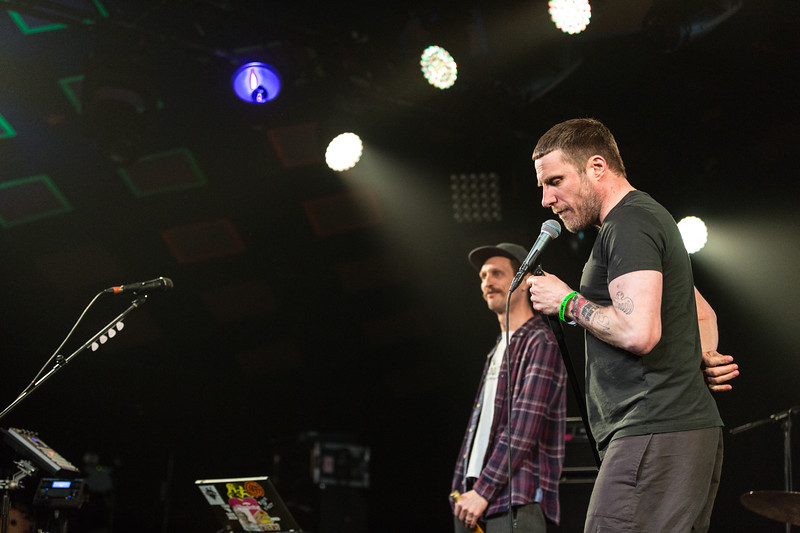 Jason Williamson and Andrew Fearne, Sleaford Mods