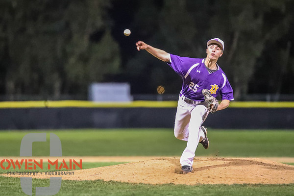 SLO Baseball vs. Amador Valley 04052018