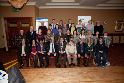 Picture are members of the Newry Neighbourhood Partnership at a prioritisation event which took place in the Canal Court on Thursday 26th February. R1510012