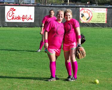 Leon Softball Pink Game 2012