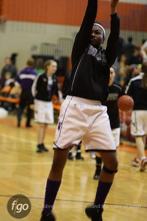 Southwest v South Girls Basketball Sectionals 3-7-09