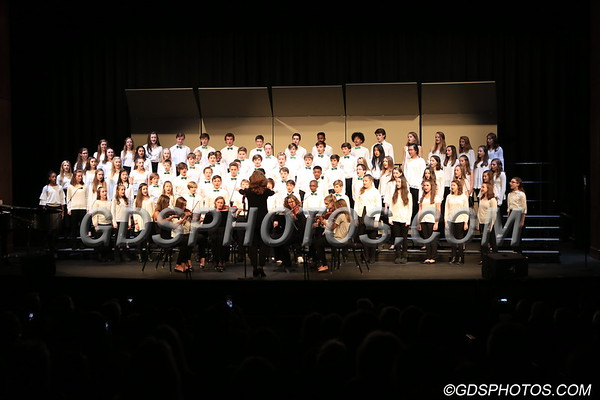 Middle School Christmas Concert I   12-06-2017