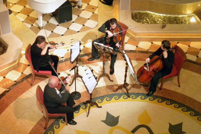 November 21, 2009 - String quartet in the Piazza