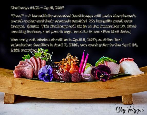 Challenge # 125 - Food