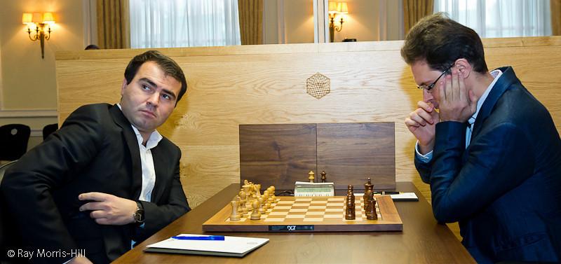 Round 11, 3 October 2012.   Shakhriyar Mamedyarov vs Peter Leko