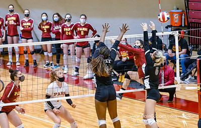 Park Univ. Women's Volleyball 2021 vs. Indiana Univ. NAIA Tourney
