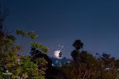 2020 July 4 Fireworks LA