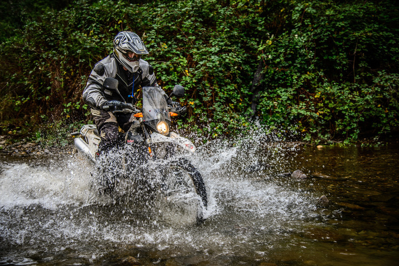 Creeks were fairly low for the High country and most riders made light work of them.