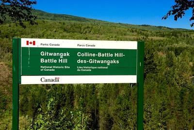 Gitwangak Battle Field BC Canada