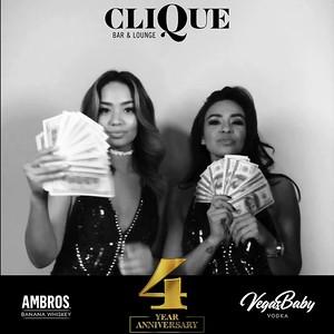 CLIQUE | 4 Year Annevirsary