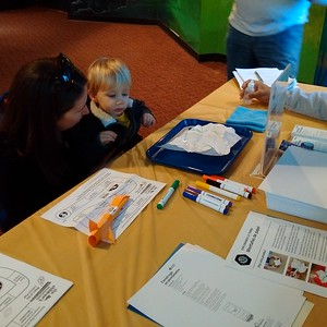 2018 Earth & Space Event at The Children's Museum in West hartford