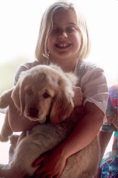 1991-06 Christie & Dog.jpg