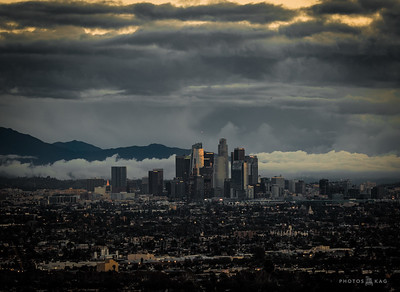 Behind The Scenes, Photographing Los Angeles at Sunrise