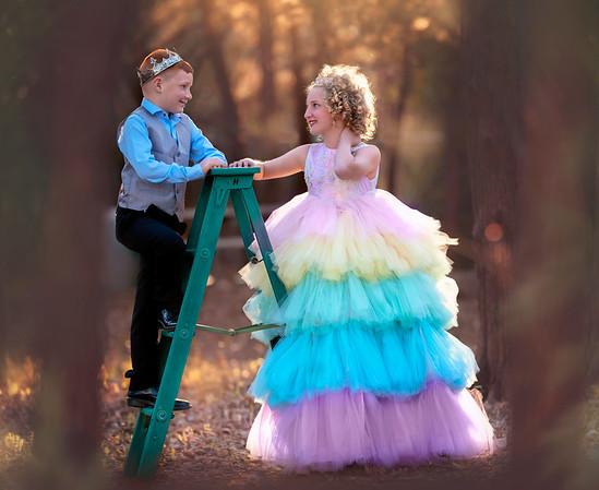 Prince Evan and Princess Abbi
