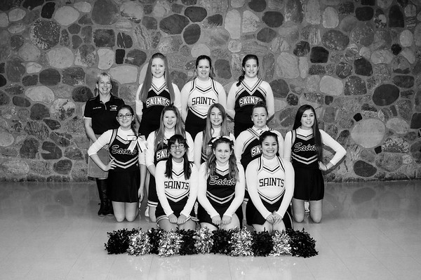 Varsity Basketball Cheer 2014