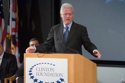 Bill Clinton & Tony Blair Come to UCLA