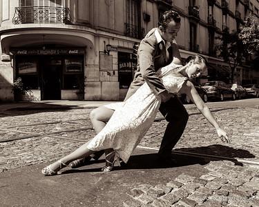 tango in the street