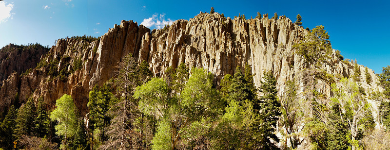 Panorama of the Palisade Cliffs