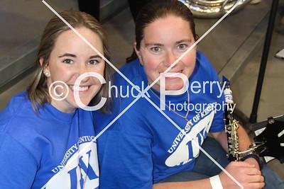 Alumni Pep Band Blue White Basketball 10-21-16