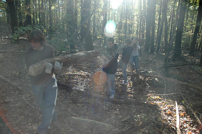 23310 COMMUNITY SERVICE STUDENTS CLEAN UP COOPERS ROCK RESTORATION