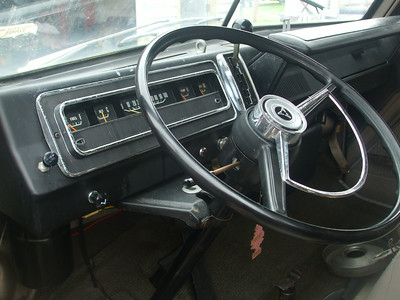 67 Dodge A100 Camper Van