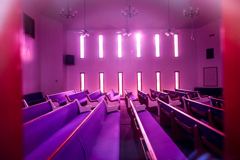 Through The Church Window