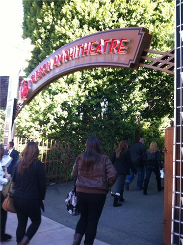 . Gibson Amphitheatre, December 19, 2012.   Mariecar Mendoza/Daily News