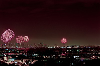 Fireworks - July 4, 2011 - San Diego
