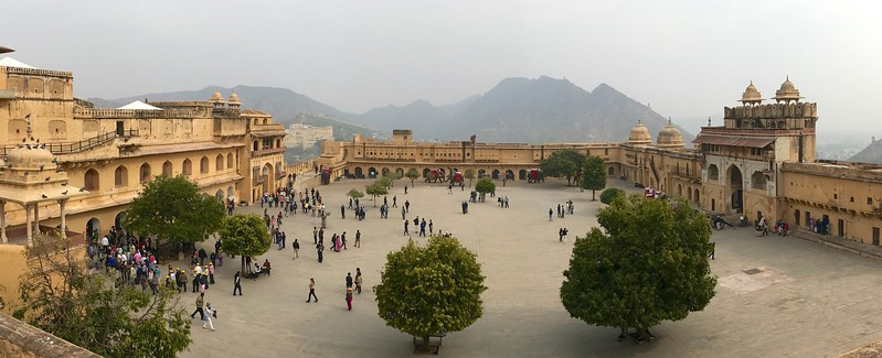 Jaleb Chowk - the main courtyard of Amer Fort, Jaipur