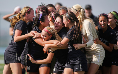 CCS Girls Soccer Division I and II finals at Valley Christian