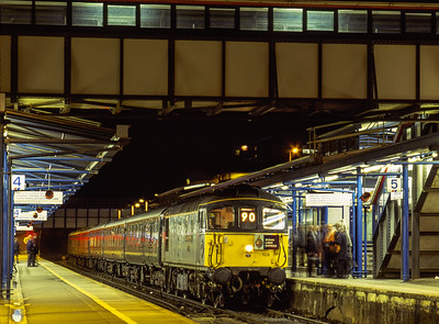 Class 33s at Night.
