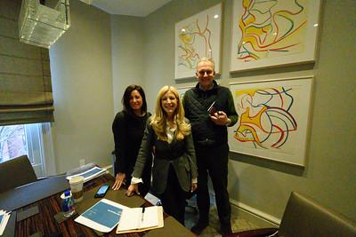 Quin meeting with Sandy Mattias & Daniella