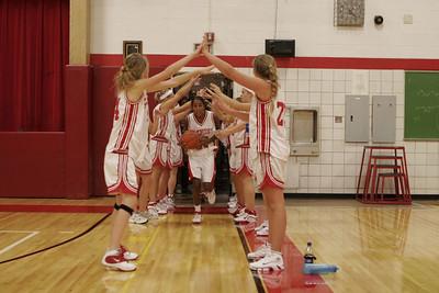 Girls Junior Varsity Basketball  - 2006-2007 -  9/5/2006 Fruitport