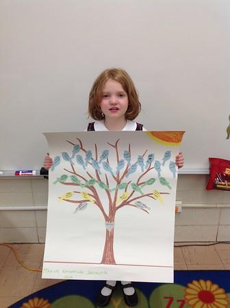 Kindergarten Family Trees