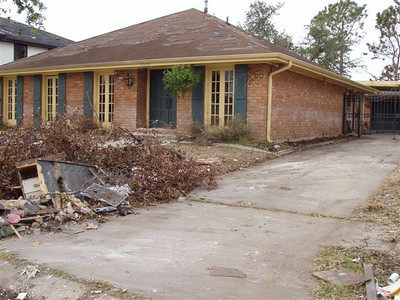 Post-Katrina childhood home