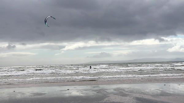 German kite surfer