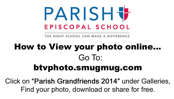 Parish Grandfriends 2014