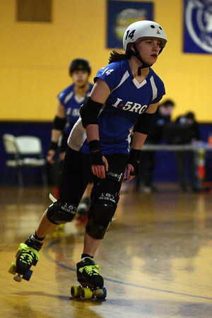 Scrimmage with Whidbey Island Roller Girls