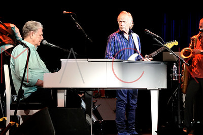 KINGSTON, NY - JULY 22:  Brian Wilson performs selections from Pet Sounds at Ulster Performing Arts Center on July 22, 2018 in Kingston, New York.