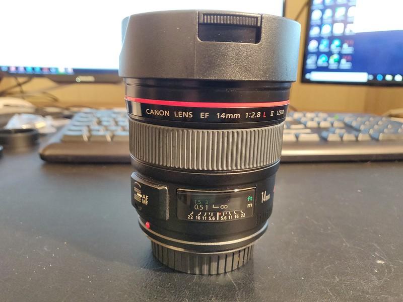 Canon EF 14mm 2.8L II USM - Serial UV0609 001.jpg