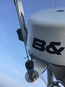 Radar (again) and VHF Antenna 2018