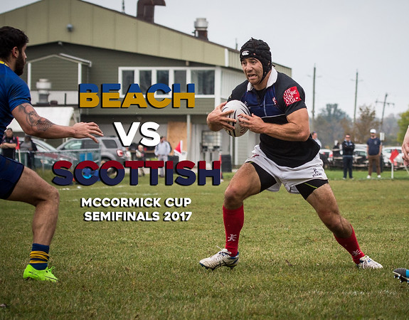 Beach vs Scottish McCormick Cup Semifinals 2017