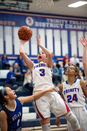 2016-01-15 TCA-Addison - FW Nolan Varsity Girls Basketball