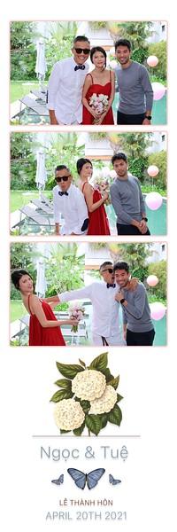 Ngoc & Tue engagement party instant print photo booth - Chụp hình in ảnh lấy li�n Tiệc �ính hôn | Photobooth Vietnam