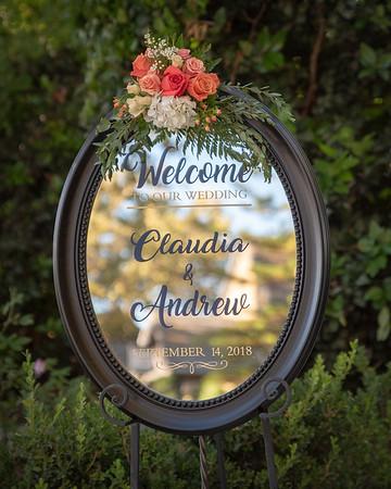 Andy & Claudia's Wedding - 9/14/18