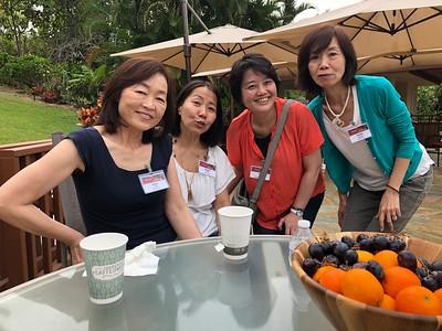Ahmyo Retreat In Japanese, Nov 2018, Kona, HI