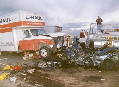 I-25 and Arapahoe UHaul MVA