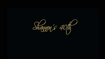12.06 Shannon's 40th